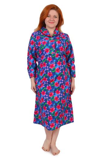Платье на пуговицах (фланель Ярцево) Арт 001