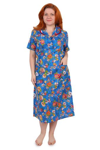 Платье бязь на пуговицах Арт 001