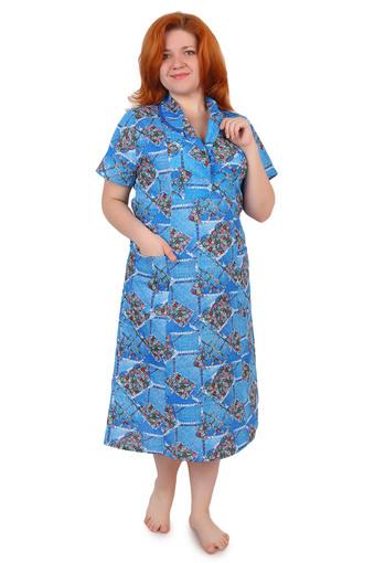 Платье бязь на пуговицах Арт 002