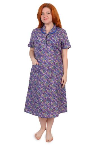 Платье бязь на пуговицах Арт 003
