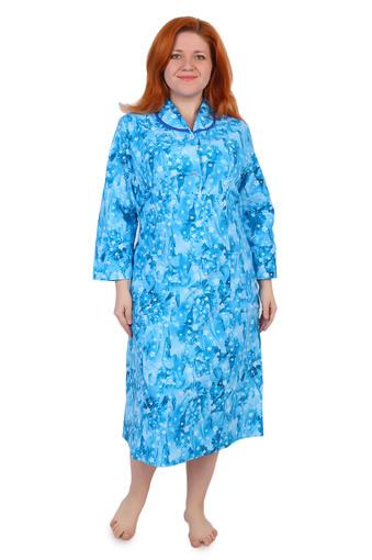 Платье на пуговицах (фланель Тейково) Арт 005