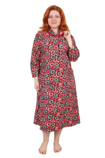 Платье на пуговицах (фланель Тейково) Арт 004