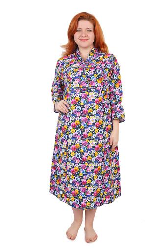 Платье на пуговицах (фланель Тейково) Арт 003