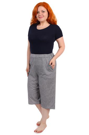 Бриджи женские с карманами зиг-заг