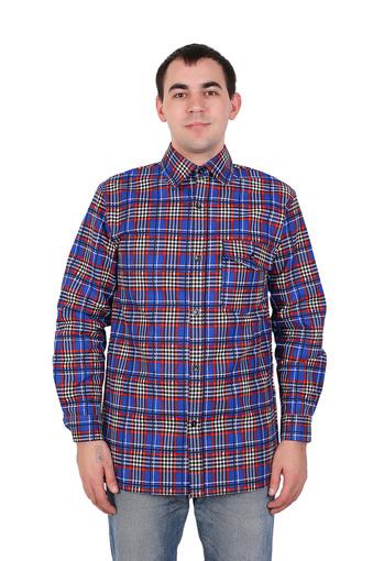 Сорочка мужская фланель (Импорт) 004