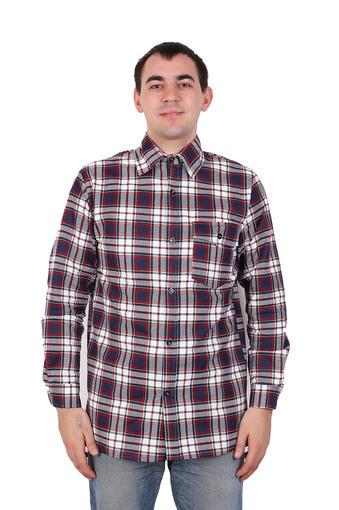 Сорочка мужская фланель (Импорт) 001