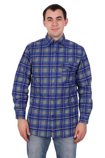 Сорочка мужская фланель (Импорт) 003