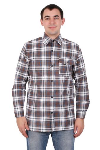 Сорочка мужская фланель (Импорт) 002