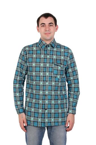 Сорочка мужская фланель (Импорт) 005