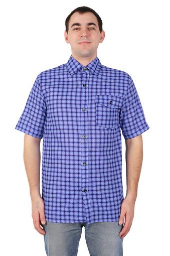 Сорочка мужская короткий рукав (бязь гост) 003