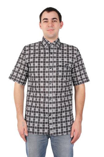Сорочка мужская короткий рукав (бязь гост) 002