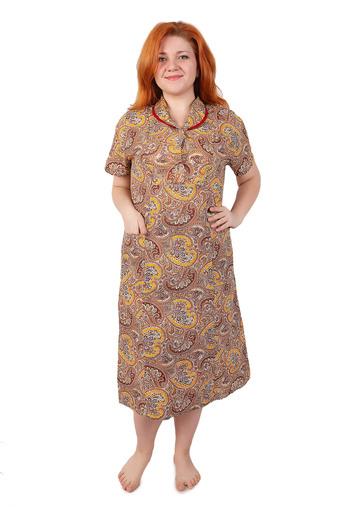 Платье бязь на пуговицах Арт 005