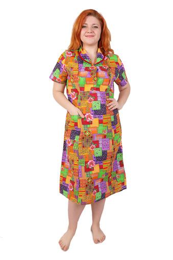 Платье бязь на пуговицах Арт 006