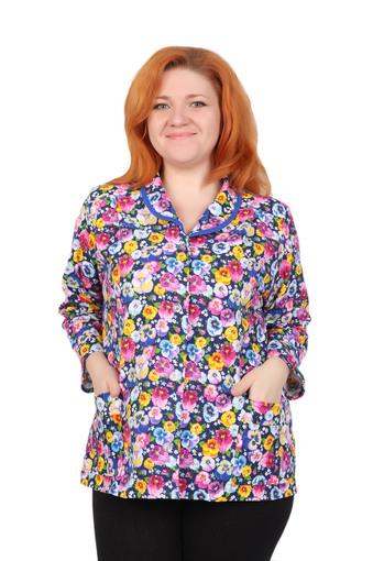 Блузка женская фланель (Тейково) 001