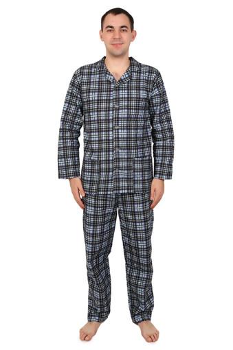 Пижама мужская (фланель) 002