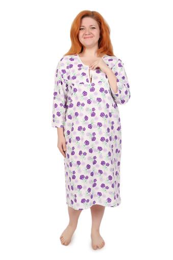 Сорочка ночная женская фланель