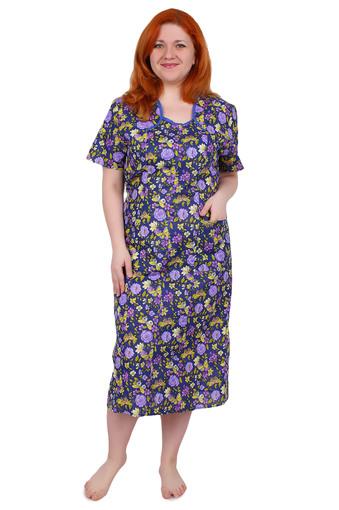 Платье бязь без пуговиц Т4